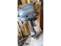 Old Evinrude outboard Motor