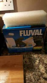 205 fluval filter and fluval stones and sponges