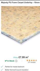 Carpet underlay 10mm