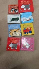 Usborne That's Not My...baby books