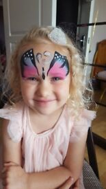 Experienced , friendly and reliable Face Painter !