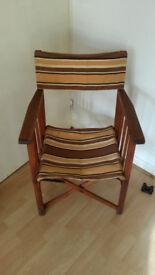 Vintage 60's Directors Chair