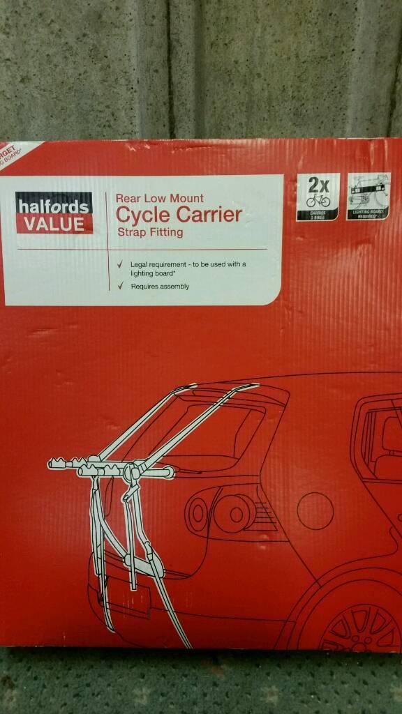 Bike carrier for rear of car - 2 bikes