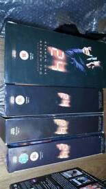 24 tv series. Seasons 1 to 5 on dvd.