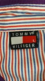 Coral tommy hilfiger gents tee