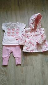 Baby outfit. First size