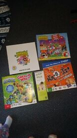 Kids board games and puzzle inc. Moshi monsters, skylanders guess who