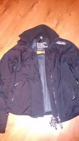 Superdry jacket size small. Small rip in lining but apart from that perfect condition,