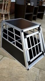 Small dog car crate