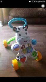 fisher price baby zebra walker