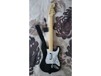 Wireless Fender Stratocaster Guitar Controller & USB Dongle for Rock Band PS3/PS4 (whammy issue)