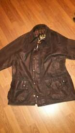 Barbour wax coat jacket vintage Beaufort