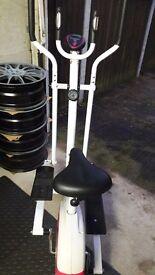 Davina mccall crosstrainer/bike hardly used bought brand new