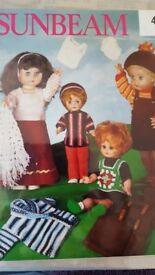 Knitting patterns for Dolls Clothes large bundle