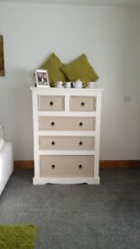 Large Chest of Drawers, Mexican Pine upcycled in Annie Sloan Chalk Paint