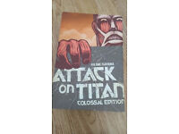 Attack On Titan: Colossal Edition 1 - Very Good Condition