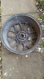 "Mg zt 18"" hairpin alloy wheel (x3)"