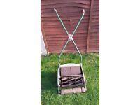 Ransomes Ajax mk5 mower. Good condition but no grass box i am afraid.