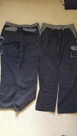Mascot mens work trousers x 2 pairs