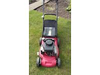 Sovereign petrol self propelled lawn mower.