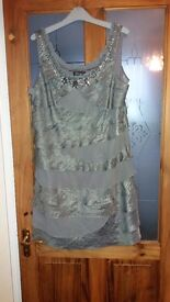 SIZE 16, SL FASHIONS DRESS