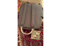 New with labels – Starch Baby Changing Bag – folds out as Changing mat - Reduced to £6