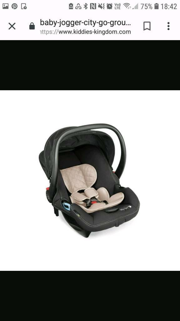 Baby Jogger City Go Infant Car Seat And Isofix Base In Exmouth Devon Gumtree