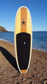 BRAND NEW STAND UP PADDLE BOARD (HARD BOARD) 9'6/10'6/11'6 WHITE RAIL PACKAGE - PADDLE, LEASH & BAG