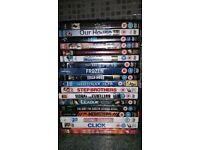 18 DVD's for sale