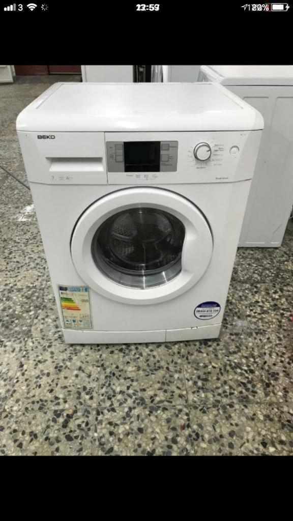 Beko washing machine new model 7kg 1400rpm A+ 4 month warranty free delivery and installation thanks