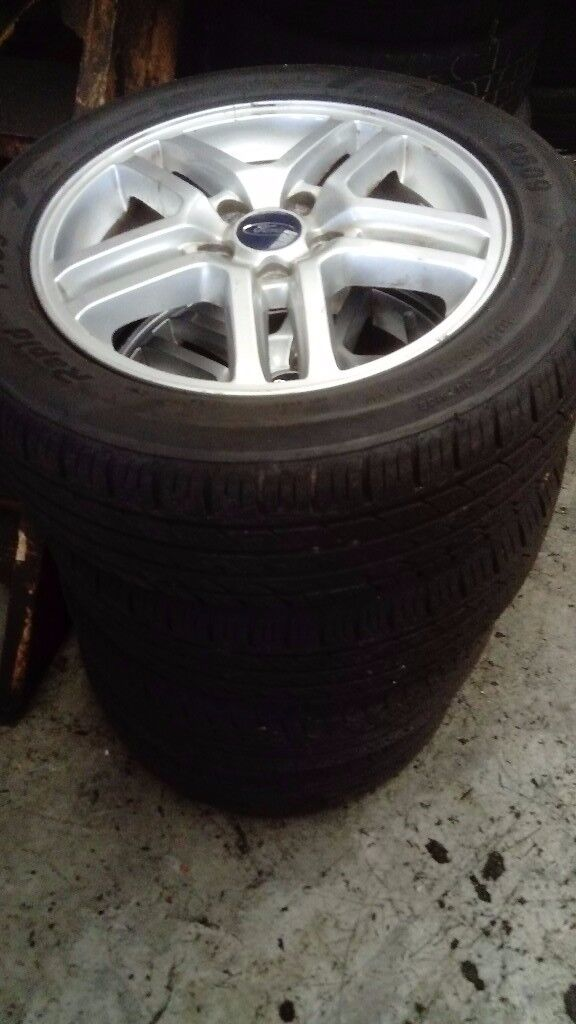 Ford Cmax,Focus,Connect Alloys 5stud 205 55 16
