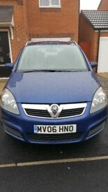 ## Zafira 1.6 petrol ## ** low mileage**