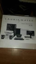 Laurie gates designer 18 piece dinner set