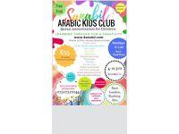 Sanabil Arabic & Quran Kids Fun & Creative Club. Sunday: 4-7yrs 11.30-1.30 8-12yrs 1.45 to 4.30