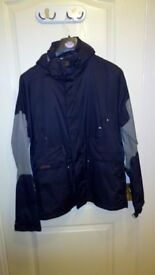 Snow Board Jacket, VGC, medium sized mens, water proof, breathable, with hood.