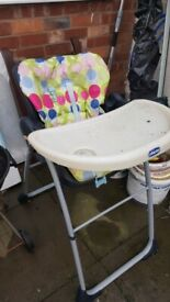 Cheap. Baby chair. Collect today cheap