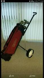 Excellent condition golf clubs