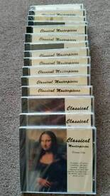 Classical Masterpieces cds