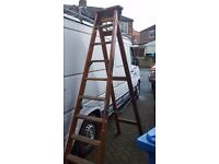 Wooden steps extra large - BRATTS AND SON LADDERS - VINTAGE -