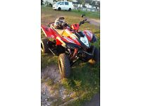 adly 400xs road legal quad bike