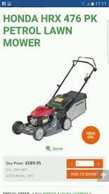 Honda petrol mower