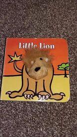 Lion puppet book