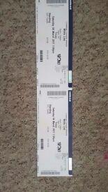 2 x white lies tickets - standing - London Troxy