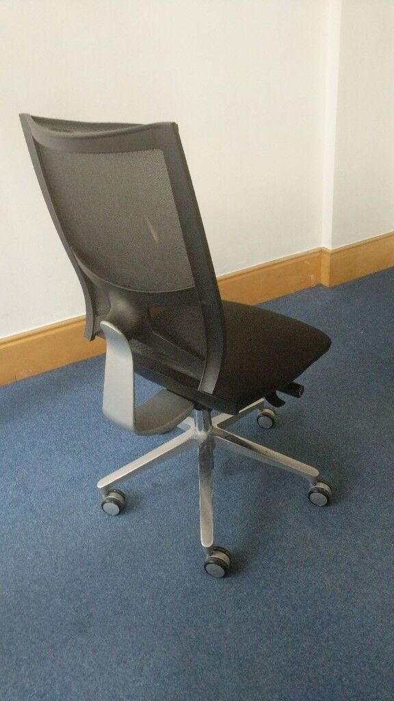 5 X Sitland Team Air Mesh Office Chairs Free Delivery