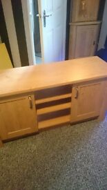Tv cabinet brand new,only 2 months old selling due to moving cost 120