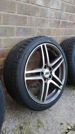 Alloy Wheels, Audi A3