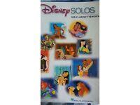 Disney Solos for Clarinet/Tenor Sax