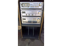 Good Condition 1980's Trio Home Stereo System