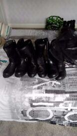 Mens bikers boots