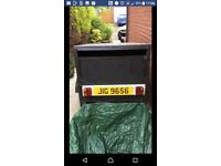 5ft x 4ft dog trailer in as new condition